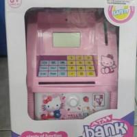 MAINAN ATM BANK KARAKTER HELLO KITTY / ATM BANK MINI