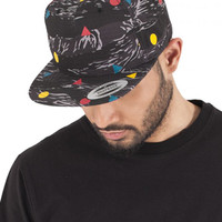 6007RS 5 Panel Cotton Twill Snapback Flexfit Yupoong Topi [ORIGINAL]