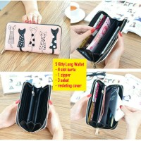 5 Kitty Long Wallet