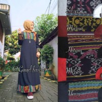 Gamis Songket/Maxi/Lacoste
