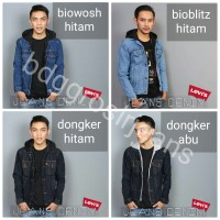 JAKET HOODIE DOUBLE RESSLETING LEVIS ARIEL DOUBLE SLETTING