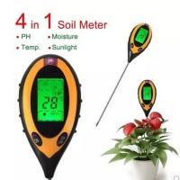 Digital Tester Meter PH TANAH 4 in 1. Digital Soil survey 4 in 1.