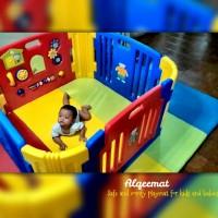 Baby Playmat / Matras Alqeemat size 1,4mx2mx4cm Rebondid Density 70