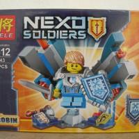 lego lele 79243 nexo knights nexu soldiers robin