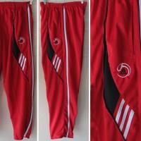 Celana Training,lari,olahraga,jogging,gym,fitnes Panjang Adidas Merah