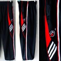 Celana Training,lari,olahraga,jogging,gym,fitnes Panjang Adidas Hitam