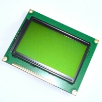 12864 LCD Graphic 128x64 green Backlight LCD for arduino or raspberry