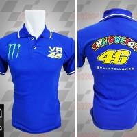 Jual kemeja/kaos kerah/Kaos/Racing MotoGP/Polo MotoGP Valentino Rossi