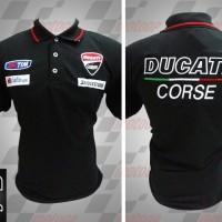 Jual kemeja/kaos kerah/Kaos/Racing MotoGP/Polo MotoGP Ducati Corse