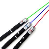 Laser Pointer warna Merah , Hijau , Biru Keunguan