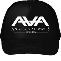 TOPI AVA,ANGEL & AIRWAVES INDONESIA(ONLY SIZE S,M,L,XL) Berkualitas