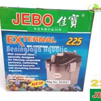 JEBO 225 External Caniter Filter,for Aquarium dan Aquascape