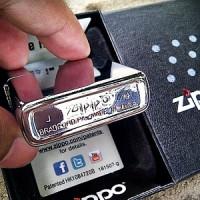 Korek Api Zippo Grade Ori KW Super High Polish Chrome