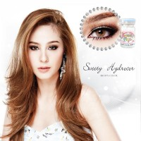 Softlens Sweety Hydrocor Brown (Coklat)