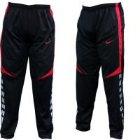 Celana Training Panjang Nike Hitam Merah (Jogger,Running,Olahraga,New)