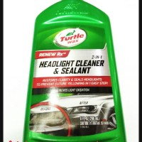 TURTLE WAX/HEADLIGHT CLEANER & SEALANT TURTLE WAX