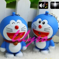 "Gantungan Kunci Doraemon-Suara ""I Love You'-Mata buka/tutup"