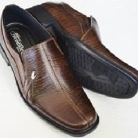 Sepatu Pantofel Kerja Kantor Pria Formal Crocodile Kulit Sapi Asli 005