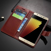 """Flip Cover Samsung Galaxy Note7 / Note 7 Duos (N930) 5.7"""" Leather Case"""