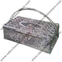 Tempat Tissue Kotak Stainless