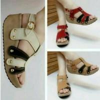 sandal sepatu wedges