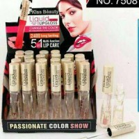 Lip Gloss Kiss Beauty Liquid - Tahan 24 Jam
