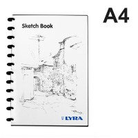 Buku sketsa A4 / sketch book LYRA