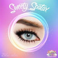 Softlens Sweety Spatax Blue (Biru)