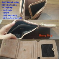 Short Nubruck Wallet - Namy Shop