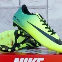 Sepatu Sepak Bola Nike Mercurial Vapor 9 Hijau Kuning Terbaru & Murah