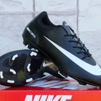 Sepatu Bola Nike Mercurial Vapor IX Hitam List Putih Terbaru & Murah