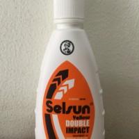 Selsun 100 ml yellow double impact shampoo anti ketombe gatal jamur