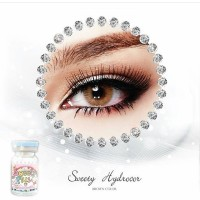 Softlens Sweety Hydrocor Brown by Sweety Plus