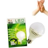 Lampu Bohlam Led Tepuk Sensor Suara 10 W Watt