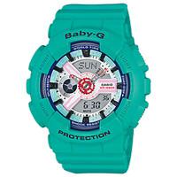Jam tangan wanita Casio Baby-G BA-110SN-3A original