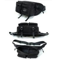 Tas kamera/tablet/iPad/Tripod Ninenine Vibrant Black Hip Pack