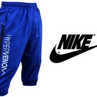Celana Jogger 3/4 Nike Hypervenom Biru Parasut (Training/Olahraga)
