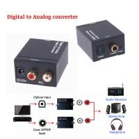 Digital to Analog Audio Converter - Optical Toslink to Analog RCA