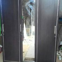 lemari sliding jumbo 3 pintu