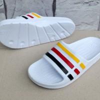 Sandal Adidas Duramo Putih (sendal/flip flop/selop/sport/Karet)