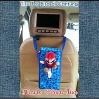 Tempat Tissue tisu tissue Mobil Tas/Boneka Mario Bross/Love/Biru Tua