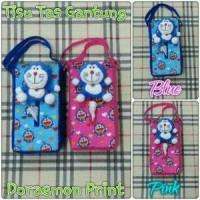 Tempat Tissue Mobil Tas/ Boneka Doraemon/ Biru/ Pink