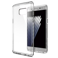 SPIGEN Ultra Hybrid Case Samsung Galaxy Note FE - CRYSTAL CLEAR