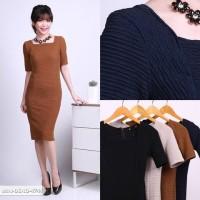Liliena Texture Bodycon Mini Dress
