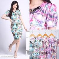Nadhayanie Flowery Bodycon Mini Dress