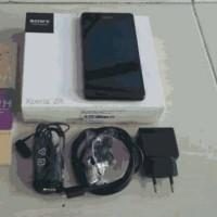 bnob new sony xperia ZR C5502 Black Resmi Trikomsel