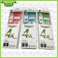 Kabel Data HIPPO Teleport 2.4A 45cm iPhone 3/4 iPad iPod Murah