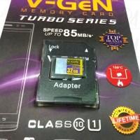 Micro sd V-GeN 32gb turbo + adapter