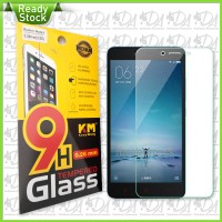 Tempered Glass Redmi Note2 KM Keep Moving 0.26mm Premium Quality M