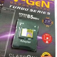 Micro sd V-GeN 8gb turbo + adapter